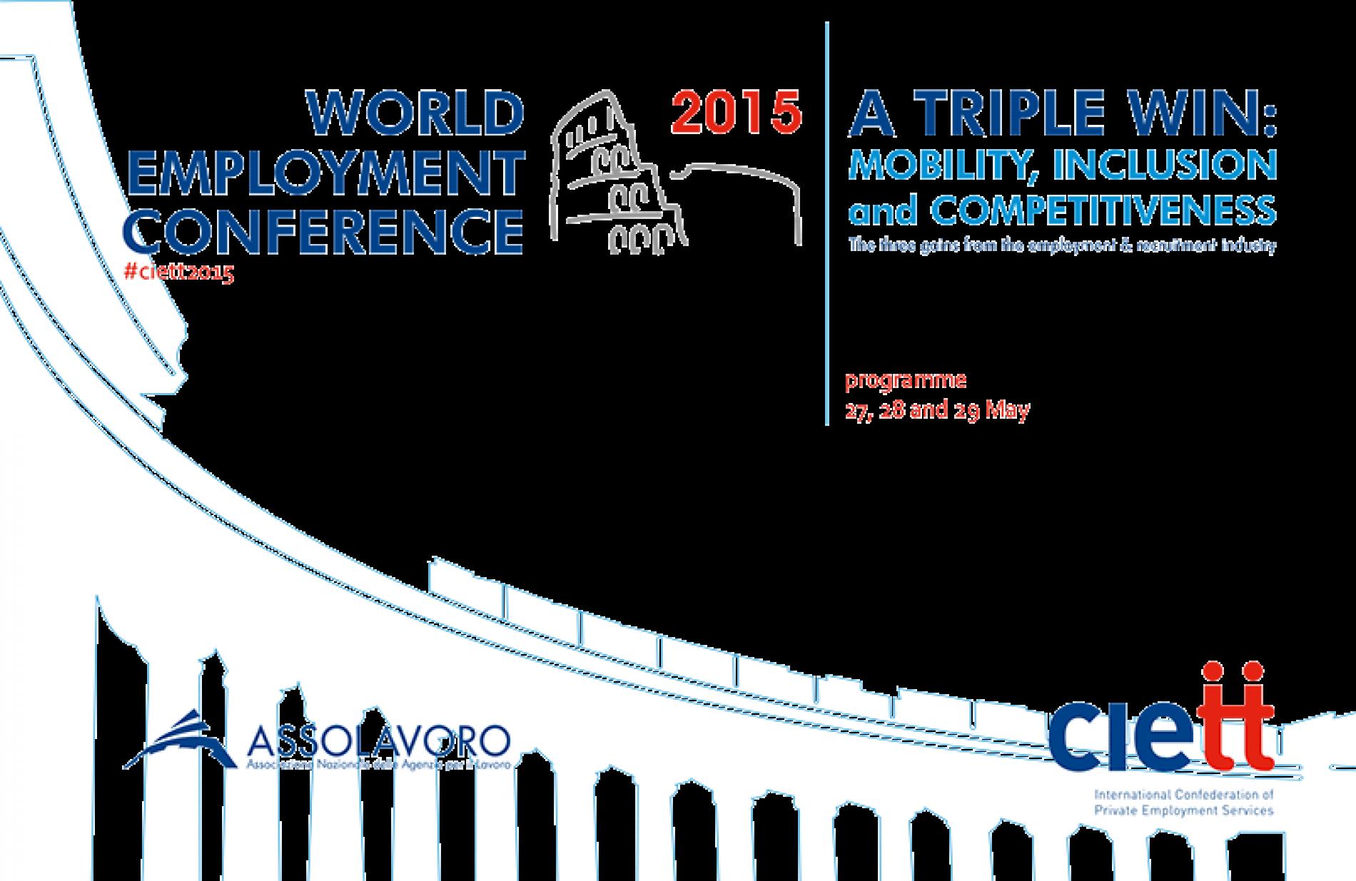 Agenzie per il lavoro : italia tra le best practice europee [ #ciett2015 #assolavoro]