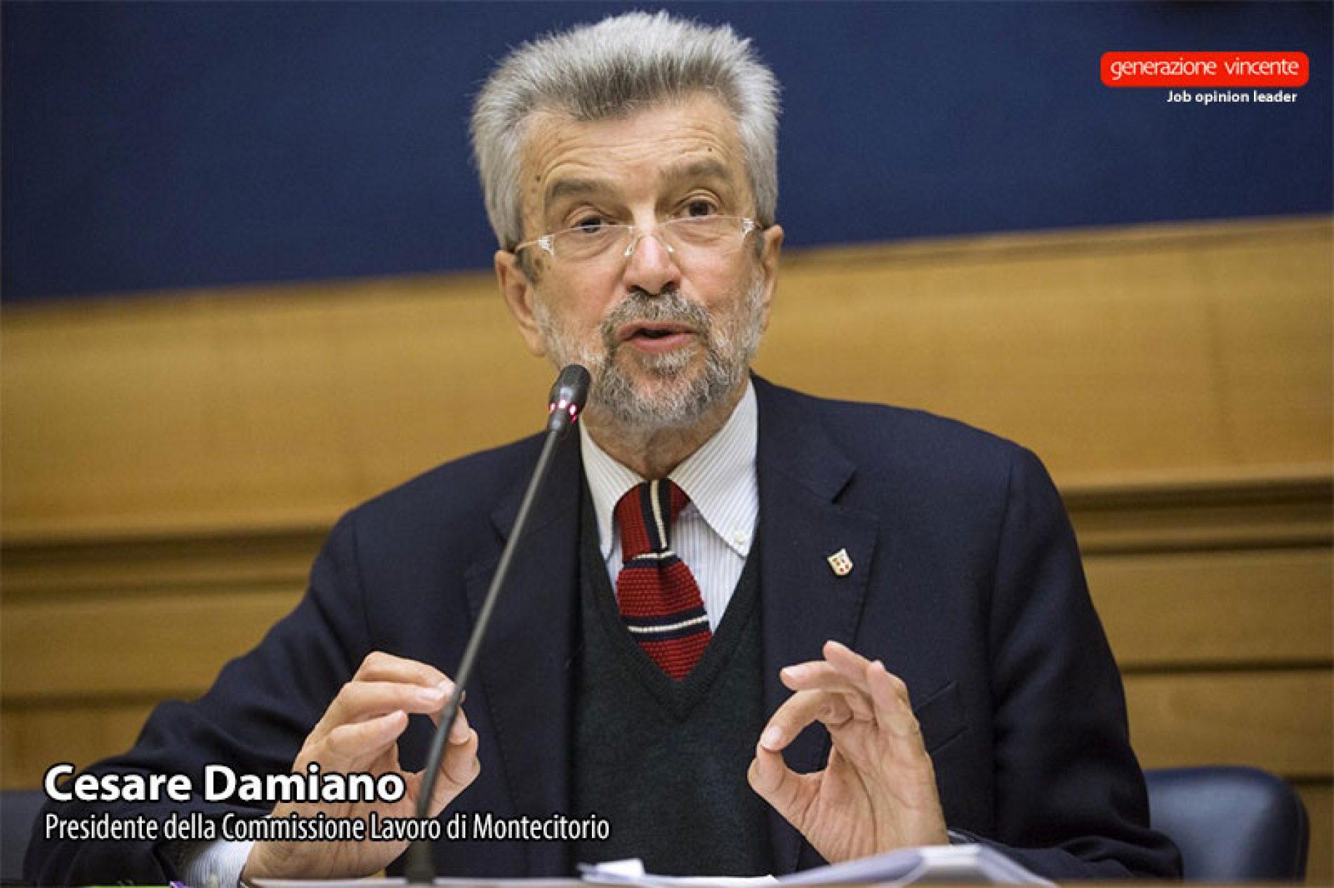 Damiano: «Mettiamo alla prova il Jobs Act, pronti a correggere quello che non dovesse funzionare»