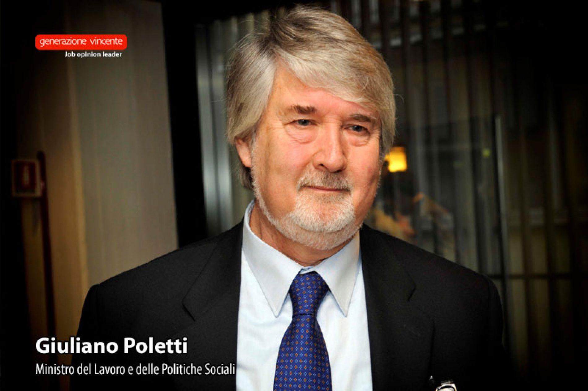 Poletti : «Il Jobs Act, una svolta epocale per un mercato del lavoro più efficiente, equo e inclusivo»