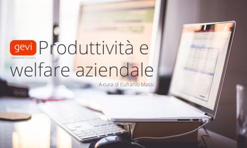 La produttività ed il welfare 2016 [E.Massi]