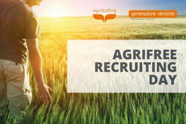 Agrifree Recruiting Day: opportunità di formazione e lavoro nel settore agricolo [17 Marzo 2017 – Bitonto, Bari]