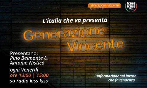 L'Italia che va presenta generazione vincente: un format radiofonico sul mondo del lavoro