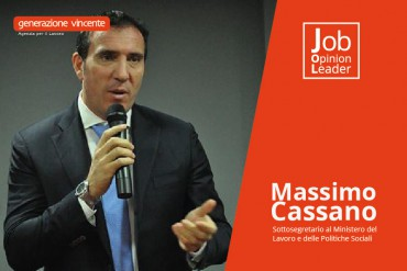 Cassano: «Nessuna ricetta magica per i giovani. Solo un ampio mix di misure può favorire il nuovo lavoro»