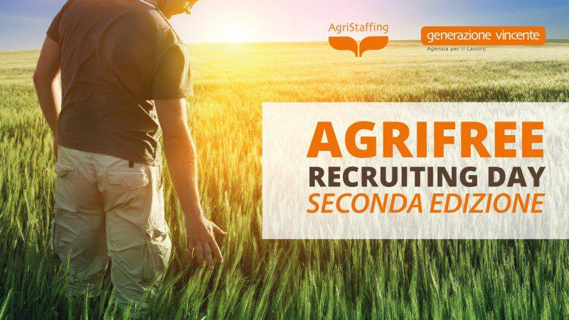 Agrifree Recruiting Day: opportunità di formazione e lavoro nel settore agricolo 2° Edizione [28 Aprile 2017 – Bitonto, Bari]