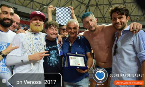 Generazione Vincente Cuore Napoli basket batte Co.Mark Bergamo e vola in serie A2