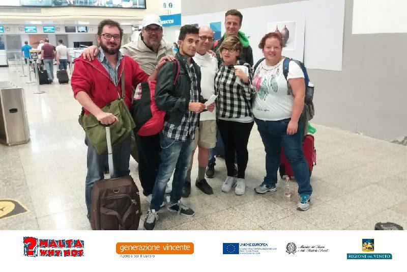 Generazione Vincente sostiene Maltawhynot, un lavoro all'estero per giovani con disabilità
