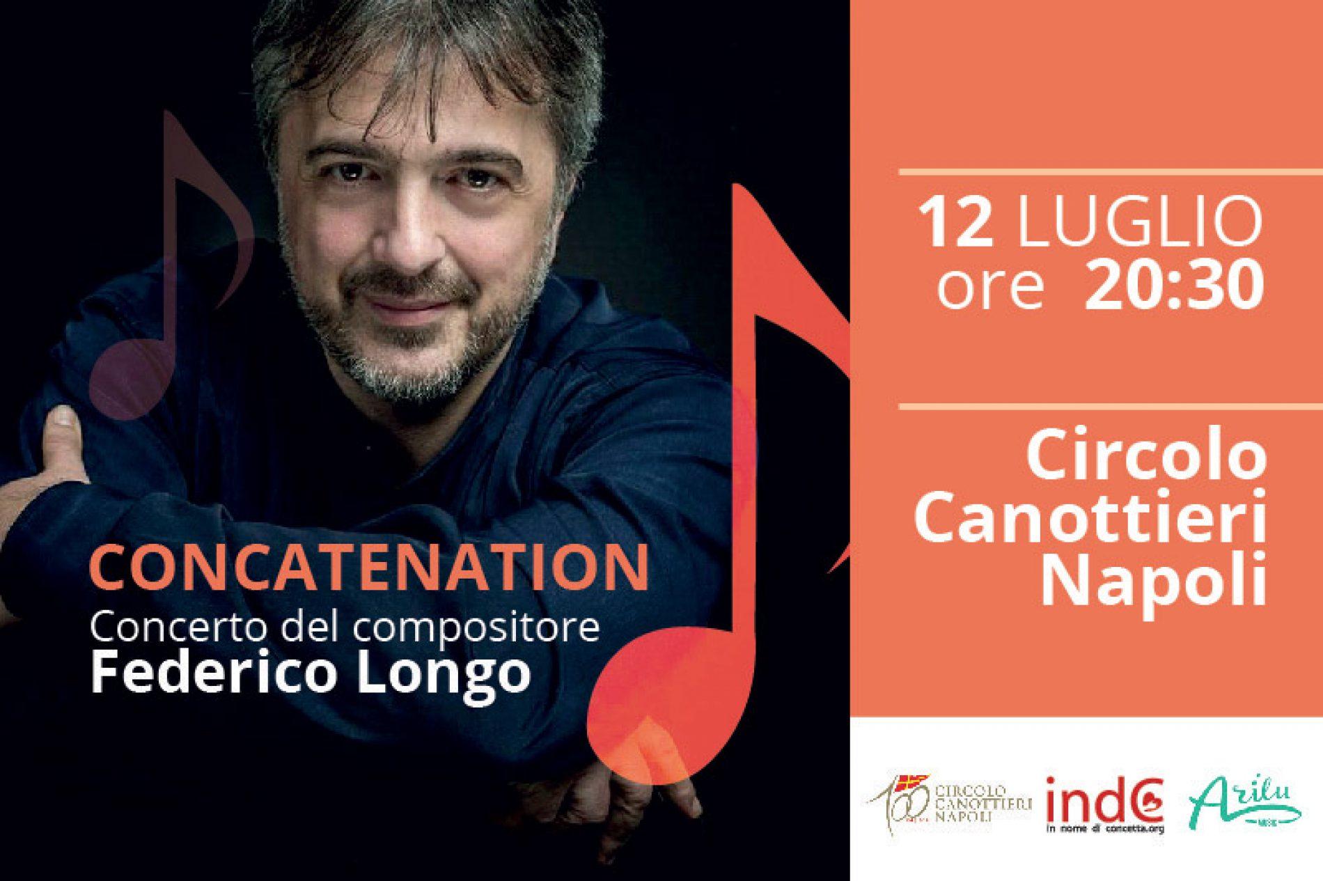"""""""Concatenation"""" una serata benefica con il compositore Federico Longo"""