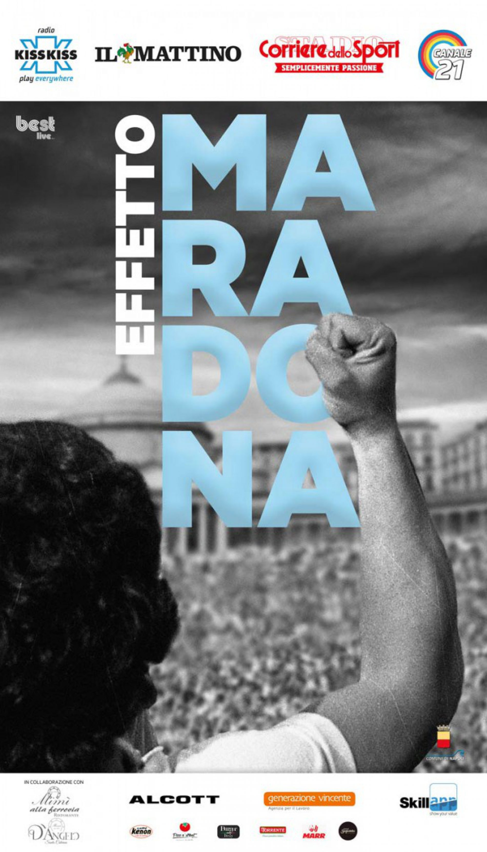 Generazione vincente main sponsor  dell'evento Effetto Maradona