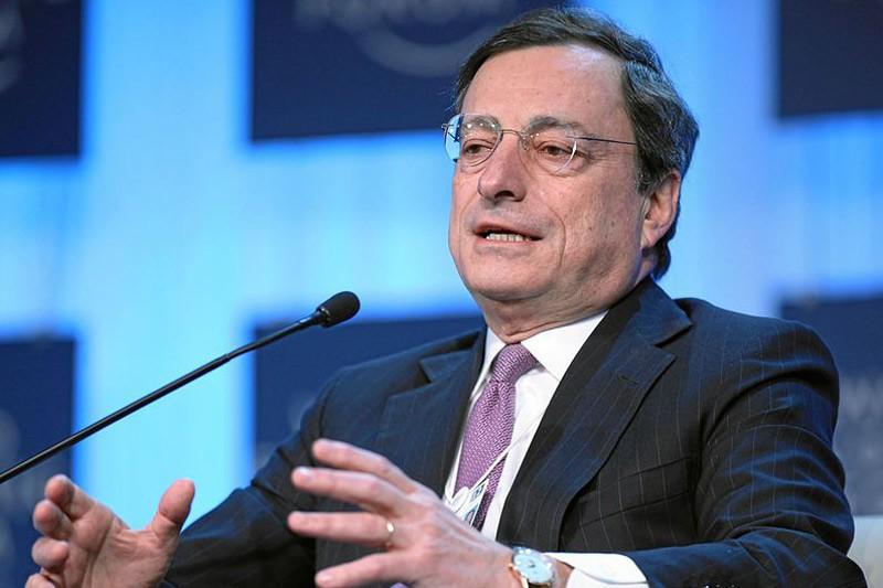 """Draghi: """"mezzo milione di occupati in più con un contratto a tempo indeterminato con il Jobs Act"""""""