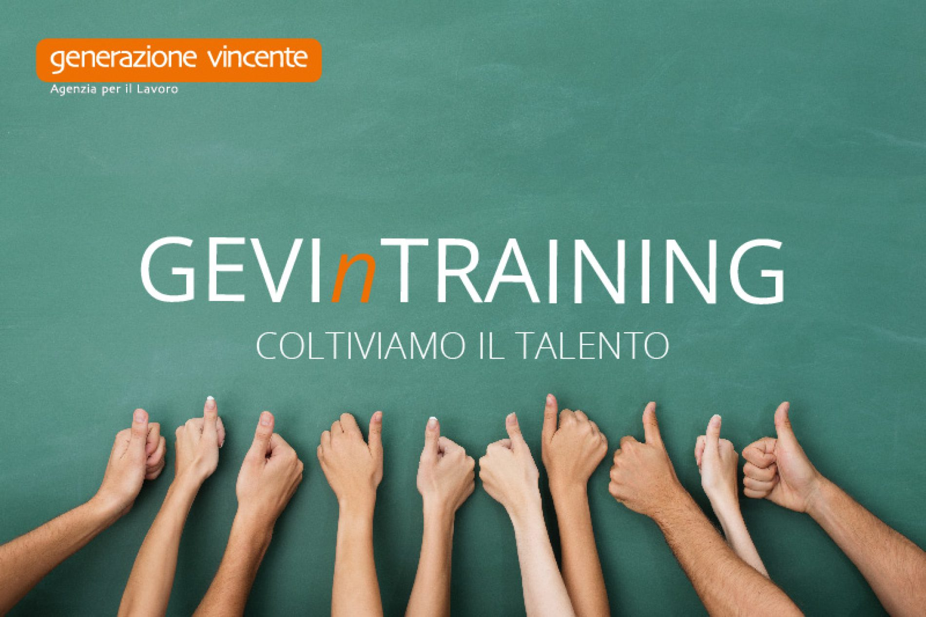 Continuiamo a puntare sul Talento: parte il percorso formativo GEVInTRAINING