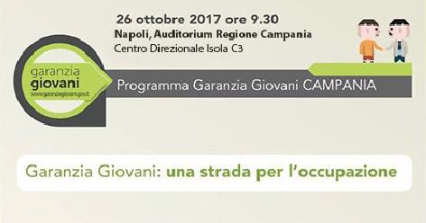 """Forum a Napoli per Garanzia Giovani: """"Una strada per l'occupazione"""""""
