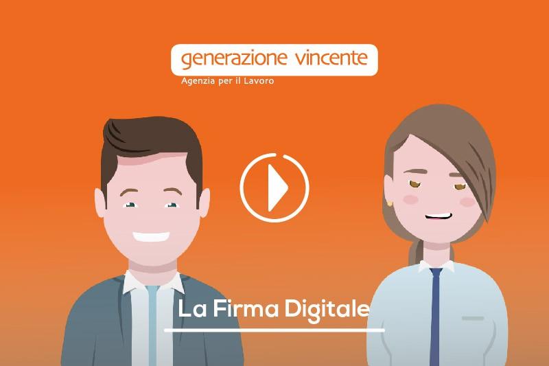 Generazione Vincente adotta la Firma Digitale: pratica, veloce ed ecosostenibile