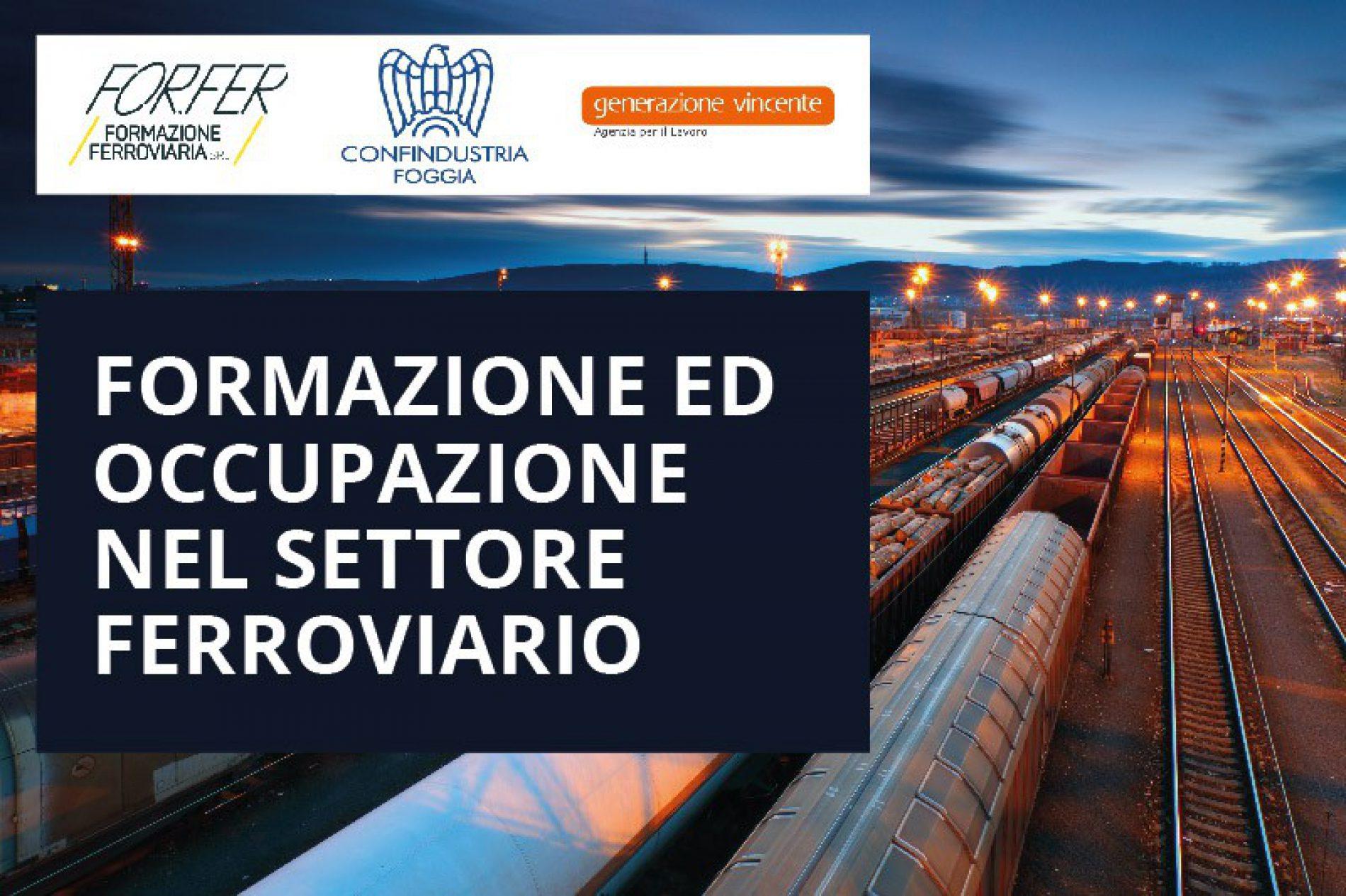 Conferenza stampa: Formazione ed occupazione nel settore ferroviario