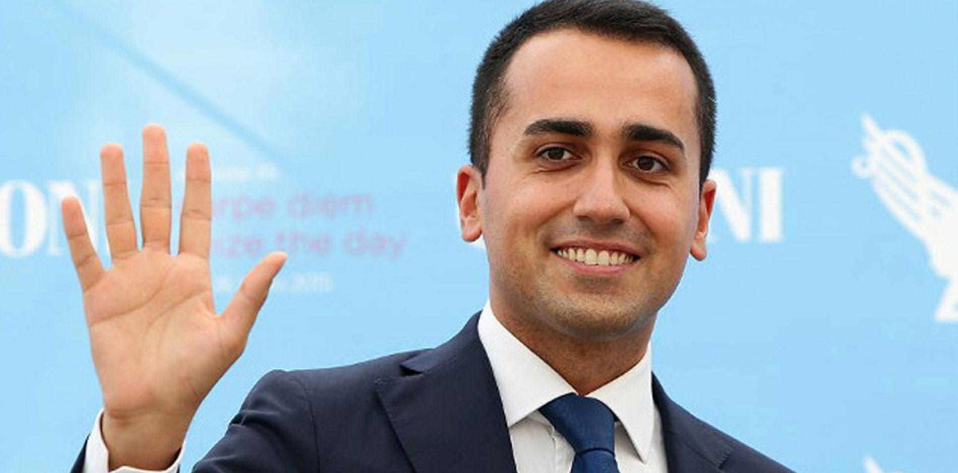 """Ministro del Lavoro Di Maio: """"Voglio ridurre la precarietà"""""""