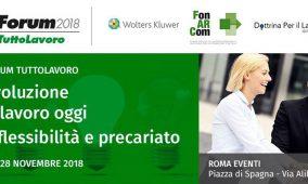 Nutrita rappresentanza di Generazione Vincente alla 5° edizione del Forum TuttoLavoro 2018