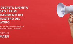 [Ebook] E.Massi: il Decreto Dignità dopo i primi chiarimenti del Ministero del Lavoro