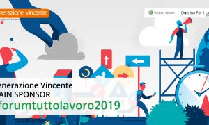 Generazione Vincente Main Sponsor di Forum TuttoLavoro 2019