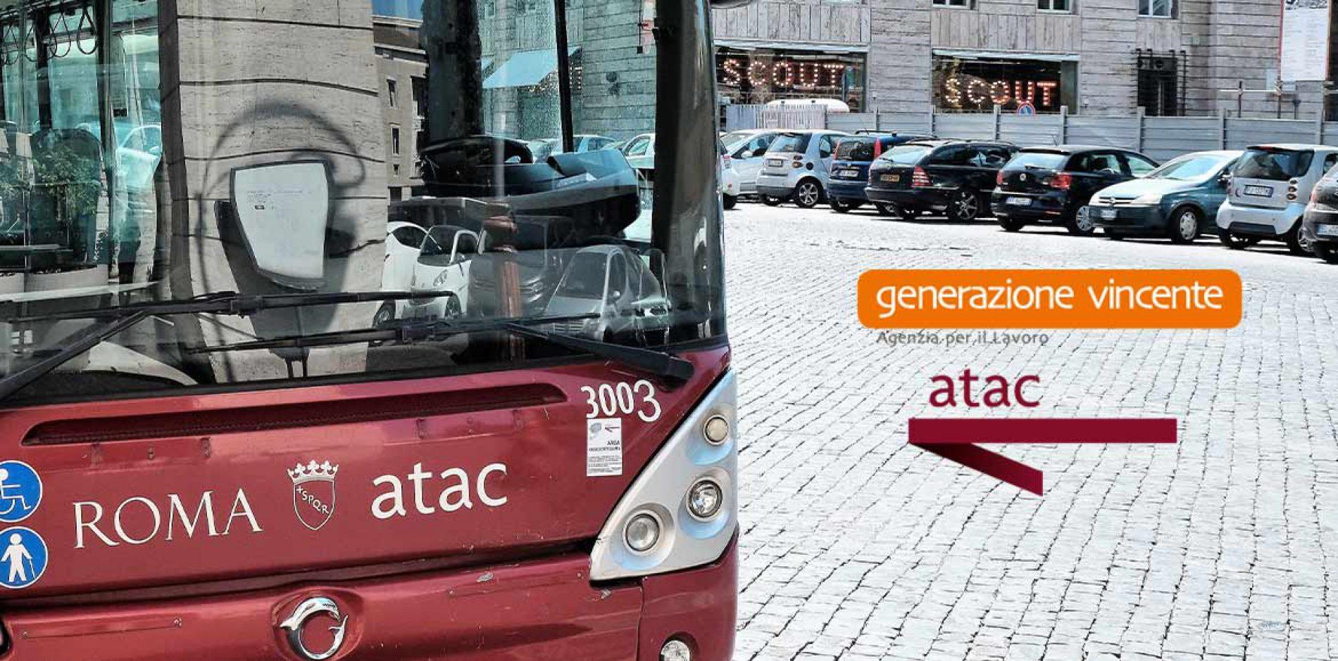 Atac: la ricerca dei nuovi autisti gestita da Generazione vincente