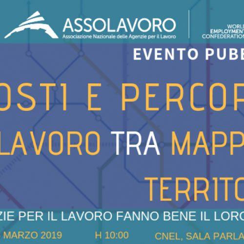 Posti e percorsi: il lavoro tra mappa e territorio – Evento pubblico di Assolavoro