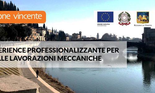 Work experience professionalizzante per addetti alle lavorazioni meccaniche [Pal Veneto]