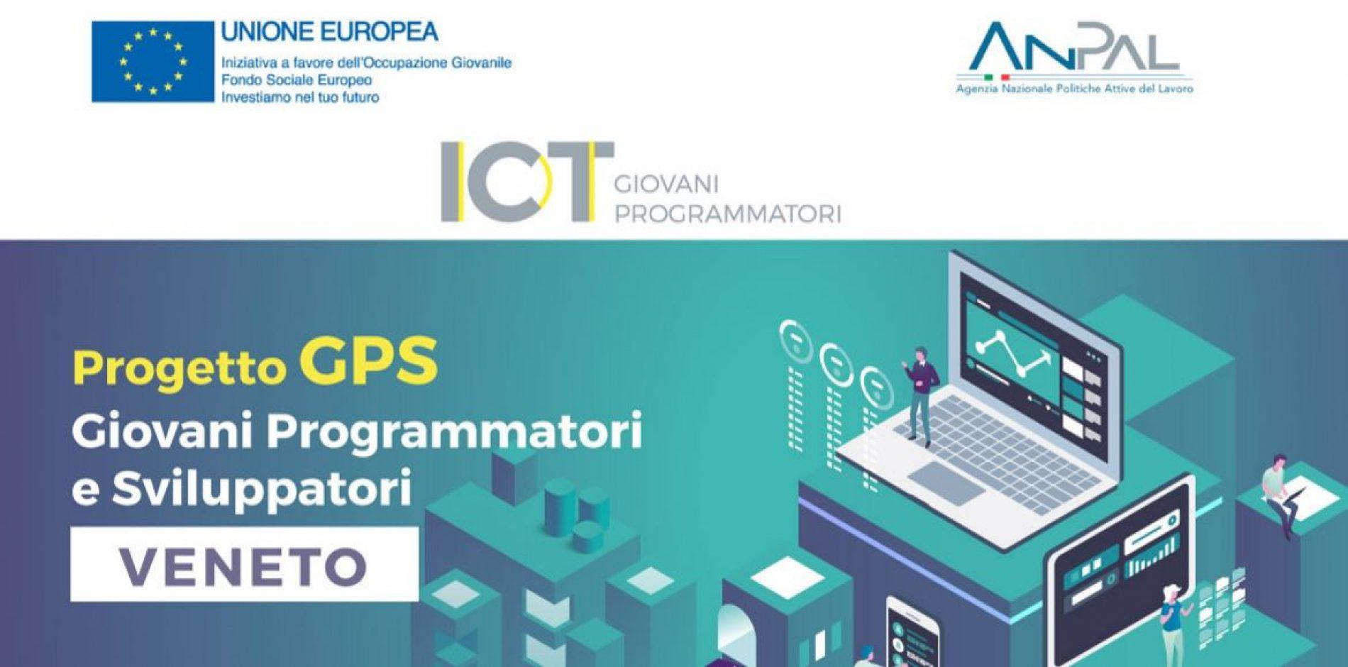 Progetto GPS Veneto: Partite le iscrizioni per i corsi formativi in ambito ICT