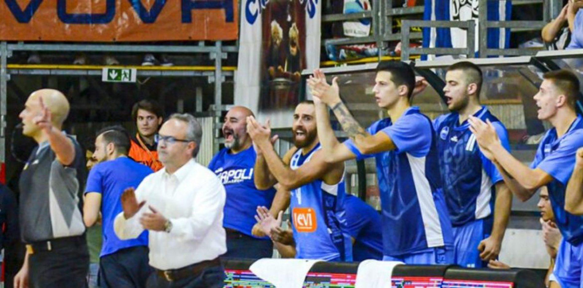 Scafati Napoli basket – Prima vittoria per gli azzurri di Sacripanti