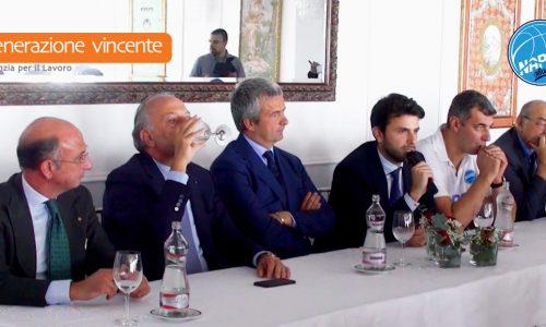Presentazione GeVi Napoli Basket – Al via la nuova stagione degli azzurri