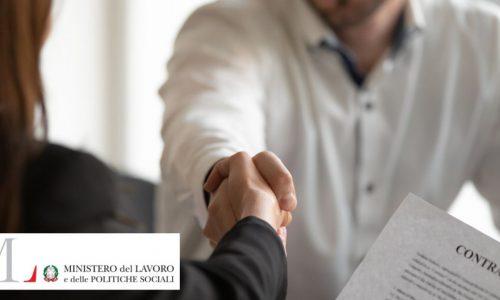 Contratti di lavoro 2019 – La nota trimestrale del Ministero del lavoro