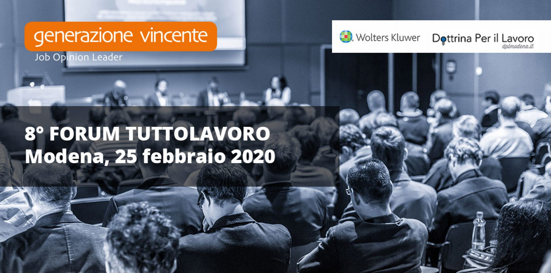 Forum TuttoLavoro Modena 2020 – In arrivo l'VIII edizione dell'evento sul lavoro