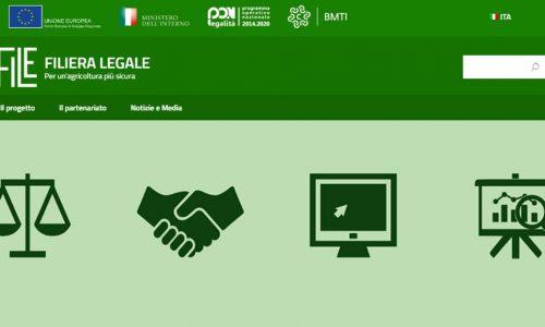 Per un'agricoltura più sicura è online la piattaforma Filiera Legale