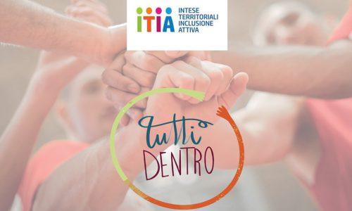 """Nasce il progetto """"Tutti Dentro"""": tirocini per l'inclusione sociale, percorsi di empowerment e servizi di supporto alle famiglie"""