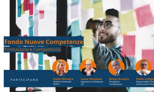 [Webinar] Fondo Nuove competenze: formazione e competitività