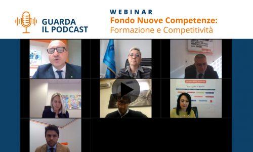 [Podcast Webinar] Fondo Nuove Competenze: formazione e competitività