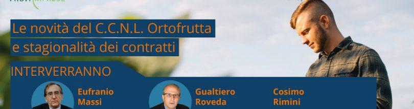 [Webinar] Le novità del CCNL Ortofrutta e stagionalità dei contratti