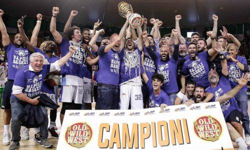 La Gevi Napoli Basket è in Serie A1!