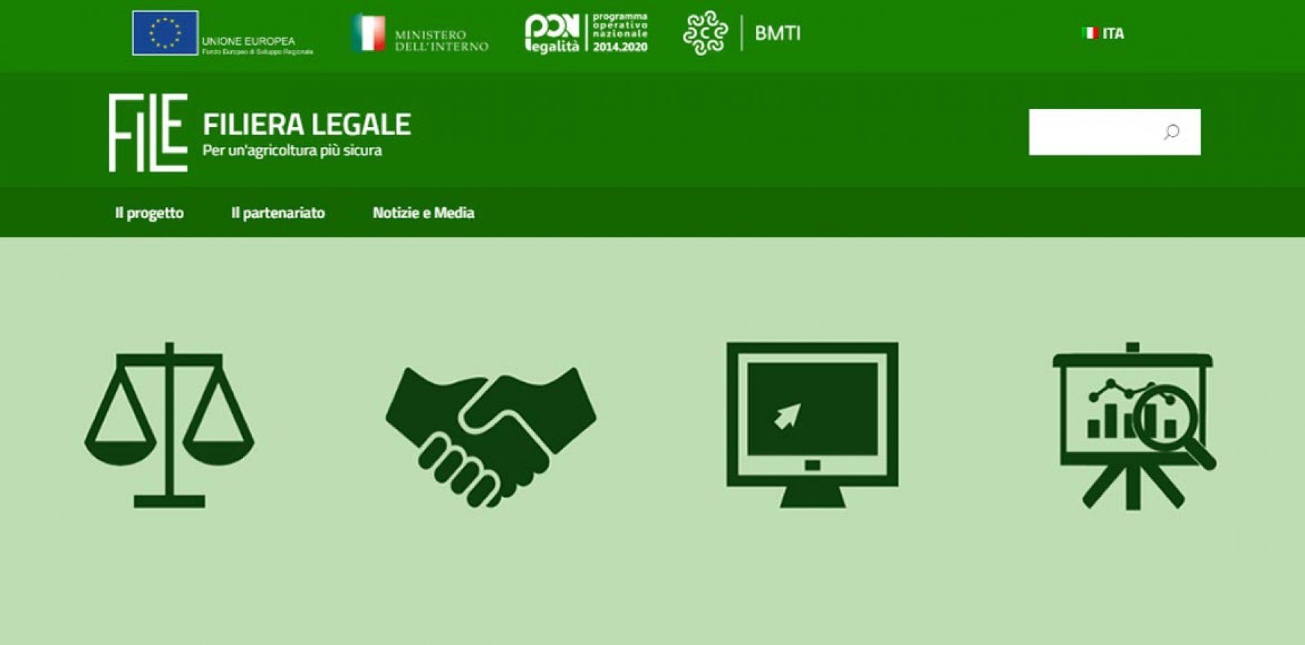 Per un'agricoltura più sicura, è online la piattaforma Filiera Legale