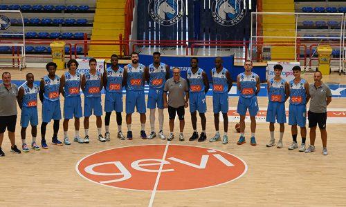 Gevi Napoli Basket: al via la stagione 2021/22