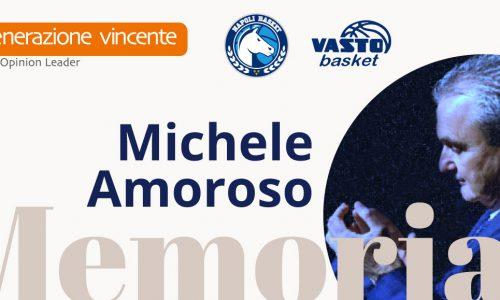 La famiglia del basket targato Gevi rende omaggio al Presidente Michele Amoroso